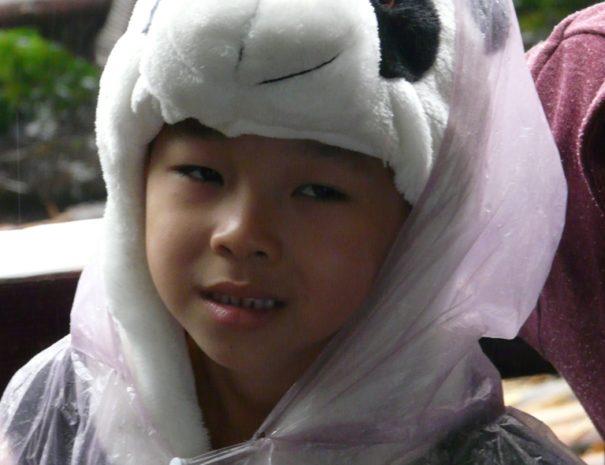 Enfant panda