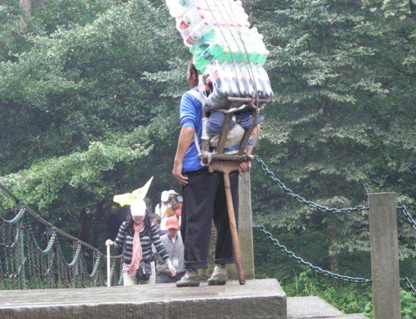 Porteur Mont Emei