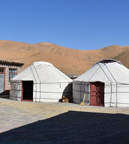 yurt chez les nomades