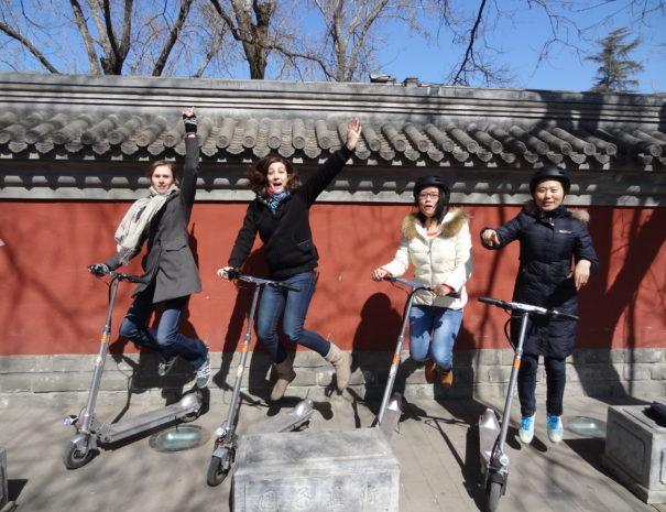 Tour de trotinette dans Pekin