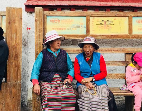 tibétaines à Lhassa