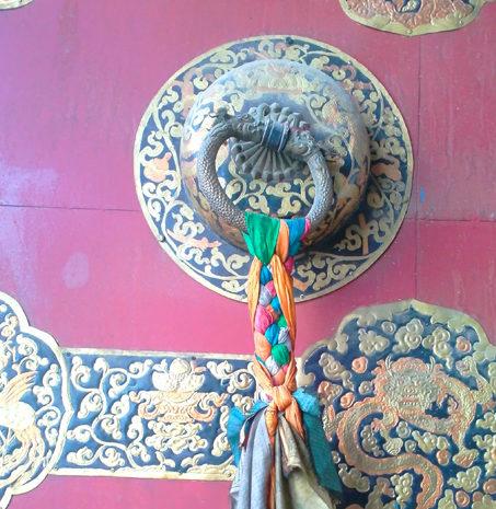 porte tibetaine